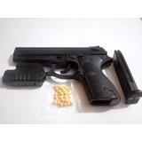Pistola Plastica Balines Plasticos Con Laser+ 100 Balines