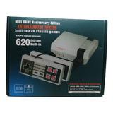 Mini Consola Tipo Nintendo Con 620 Juegos Y 2 Controles
