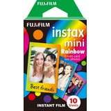 Film Pack Para Instax Mini Rainbow (10 Fotos X Caja)