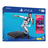 Consola Ps4 Slim 1tb + Fifa 19 + Obsequio: Base Vertical.