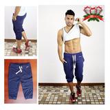 Sudadera Jogger Mocho 3/4 (gym Crossfit) 100% Calidad