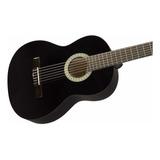 Guitarra Clásica Fender Squier Sa-150n Negra Tipo Española