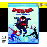 Spider-man: Into The Spider-verse (2018) Blu-ray + Dvd + Hd