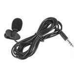 Micrófono 3.5mm Solapa, Ideal Para Grabar En Pc, Carro, Gps