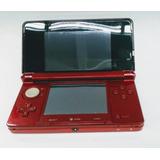 Nintendo 3ds Rojo Cargador Memoria De 16g Juegos.