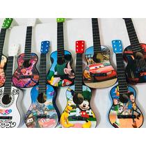 Guitarras Niños De 1 Y 4 Años Incluye Forro Variedad Motivos