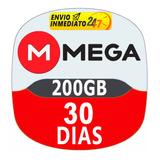 Cuentas Premium Mega 30 Dias 1 Mes Oficial 200gb Mensual