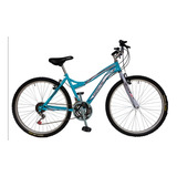Bicicleta Mtb Todoterreno Para Dama Rin 26,18 Vel Mujer