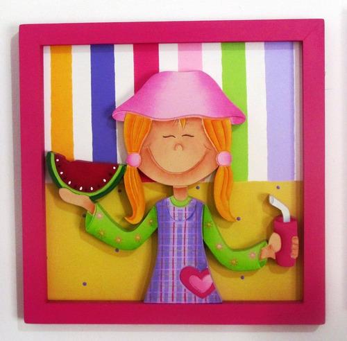 Cuadros arte country decoracion cuarto infantil hogar for Decoracion hogares infantiles