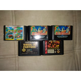 Lote De Juegos Sega Genesis