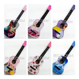Guitarra Madera Infantil Con Estuche Lona Motivos Disney