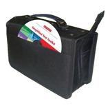 ¡ Estuche Porta-cd X120 Doble Argolla Almacena Cd Dvd !!