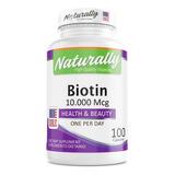 Biotina: 10.000 Mcg Americana Nautr - Unidad a $540