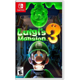 Luigis Mansion 3 Nintendo Switch. Entrega Inmediata