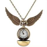 Snitch Dorada - Collar Reloj Harry Potter Quidditch