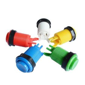 Boton  Arcade Tipo Americano Con Microswtich