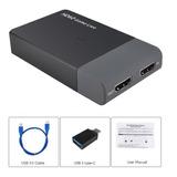 Capturadora Ezcap261m Hd60 Usb 3.0 A Hdmi 4k 1080p Streaming