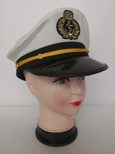 Gorra Kepis Mujer Marinero Piloto Azafata Policia Disfraz 92610246007