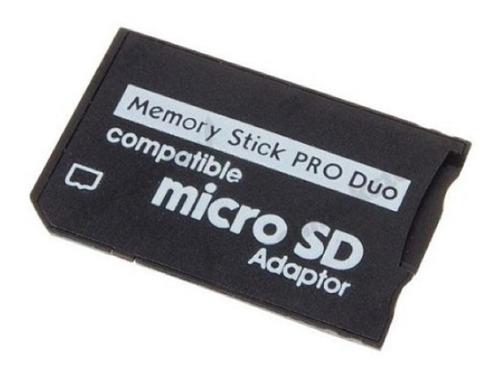 Adaptador Micro Sd Memory Stick Pro Duo / Psp Produo