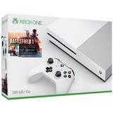 Consola Xbox One S De 500gb + Battlefield 1 + Garantia 1 Año
