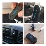 Bluetooth Carro 3,5 Mm  Audio Manos Libres Adaptador