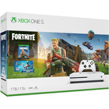 Consola Xbox One S De 1tb + Fortnite + 2.000 Bucks+ Gamepass