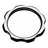 Master Series Gear Head Metal Cock Ring, Ae475-sm, 1, 1