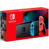 Nintendo Switch Nuevo Modelo Gratis Estuche 1 Año Garantia