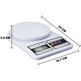 Balanza Gramera Bascula Digital Capacidad Hasta 10kg