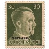 Ostland Estampilla Bajo Ocupación Nazi 1941/43
