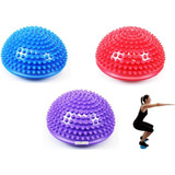 Cojín Inestable Mini Bosu Yoga Pilates Equilibrio Terapia Gy