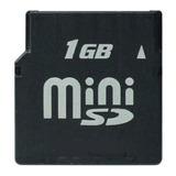 Memoria Mini Sd Kingston Minisd 1gb + Adaptador Sd