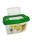 Jaula Transporte Insectos Mascota Tapa Superior Portatil