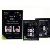 Shampoo Tinte Pinta Canas Negro Y De Color - L a $0