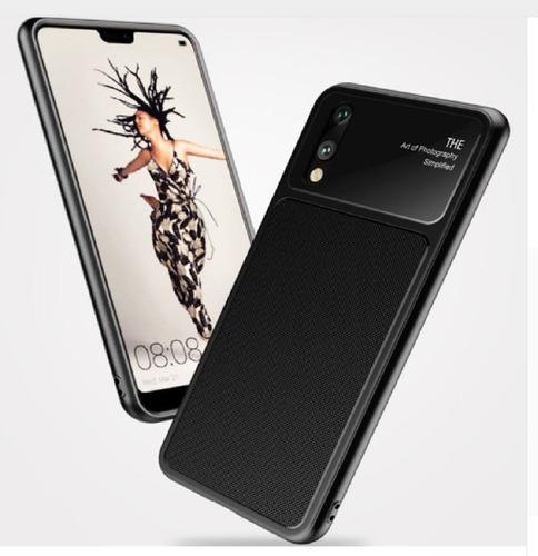 Funda De Lujo Estuche Compacto Protector Huawei P20 Negro