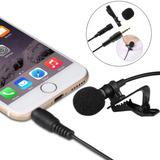 Micrófono De Solapa  Para Smartphone Celular Lavalier 3.5mm