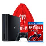 Playstation 4 Pro Con Spiderman Playstation 4 Obsequio Tula