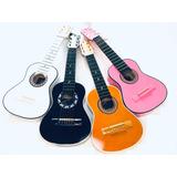 Guitarras Madera Para Niños Hasta Los 4 Años Forro Y Persona