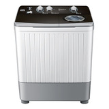 Lavadora Semiautomática De 7 Kg Blanca Centrales Lcd7023pbab