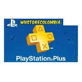 Playstation Psn Plus 12 Meses 1 Año 434 Dias Ps3 Ps4 +juegos