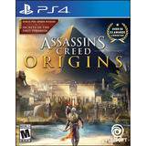 Assassins Creed Origins Ps4 Nuevo Original Domicilio