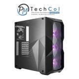 Chasis Cooler Master Mastercasebox Td500 +3 Fan Rgb + 500w