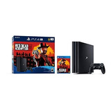 Playstation 4 Pro 1tb Consola Red Dead Redemption 2 Bundle
