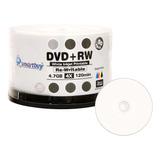 50unidades Smartbuy En Blanco Dvd + Rw 4x 4,7gb, 120m