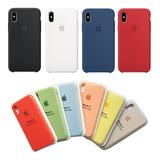 Carcasa Original iPhone Apple Silicone Case X Xr 7 8 Plus Xs