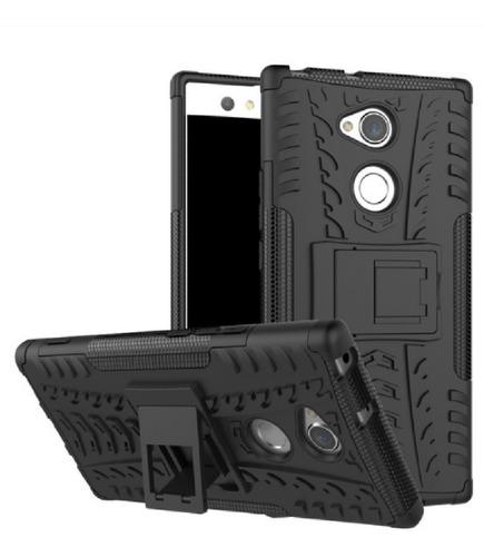 Estuche Armadura Protector Sony Xperia  Xa2 Ultra Negro