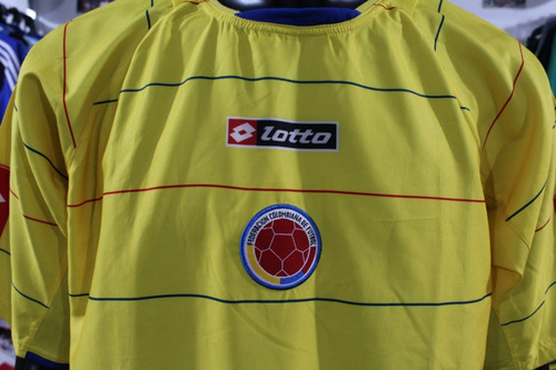 82e6ad801 Camiseta Seleccion Colombia Lotto Talla S M L Xl Xdx