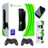 Xbox 360 5.0 +disco Duro 250 G 50j.+2controles+obsequi Usada
