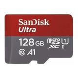Micro Sd 128gb Sandisk Clase 10 A1 100mb Nueva Sellada
