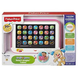 Tablet De Aprendizaje Fisher Price En Español Color Rosada